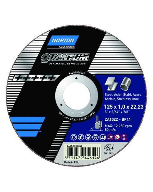 Norton Quantum Cutting Discs